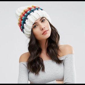 Free People Chunky Beanie Hat O/S